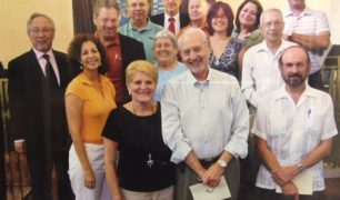 Board of Directors of Temple Beth Shalom during Lee and Al's co-presidency
