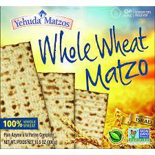 whole wheat matzos